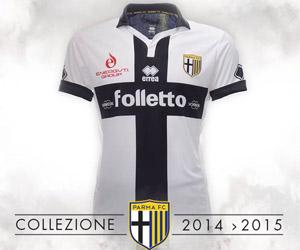 Camisas do Parma 2014-2015 Erreà capa