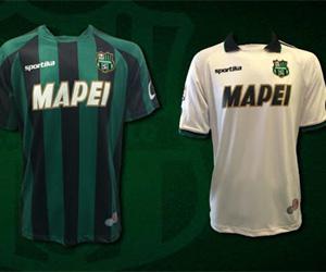 Camisas do Sassuolo 2014-2015 Sportika capa