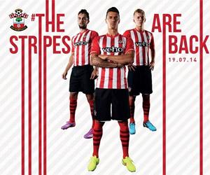 Camisas do Southampton 2014-2015 capa