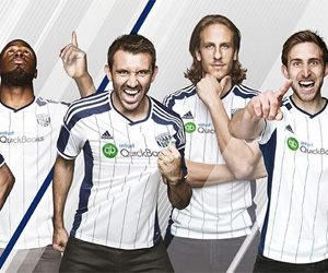 Camisas do West Bromwich Albion 2014-2015 Adidas capa