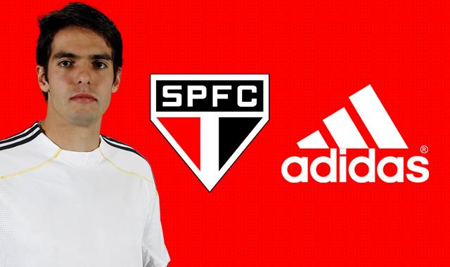 Com Kaká, São Paulo e Adidas podem estar se aproximando