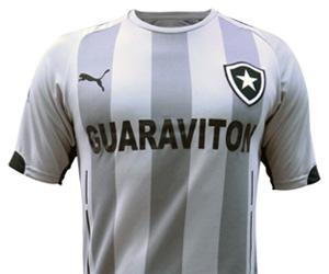 Quarta camisa cinza do Botafogo 2014-2015 Puma capa