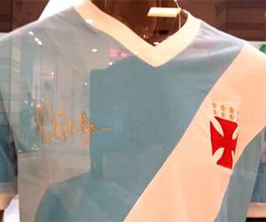 Vasco cria camisa celeste em homenagem a Martin Silva capa