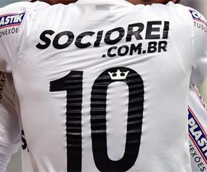 Camisa 10 do Santos terá coroa eterna em homenagem a Pelé capa