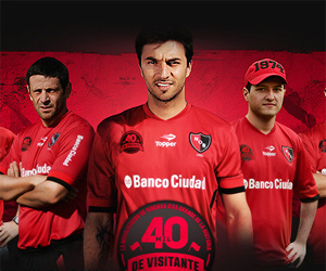 Camisa comemorativa do Newells Old Boys 2004-2014 capa