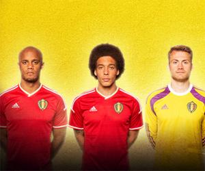 Camisas da Bélgica 2014-2015 Adidas capa
