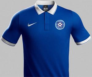 Camisas da Estônia 2014-2015 Nike capa