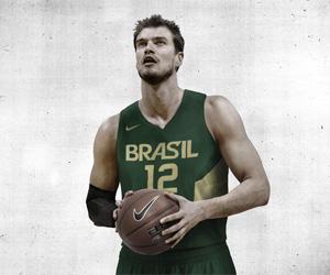 Camisas da seleção brasileira de Basquete Mundial 2014