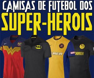 Camisas de futebol dos Super-heróis capa
