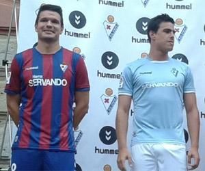 Camisas do Eibar 2014-2015 Hummel capa