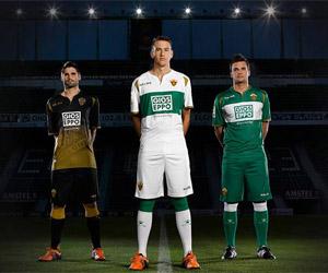 Camisas do Elche 2014-2015 Kelme capa