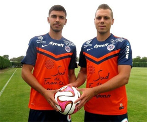 Camisas do Montpellier 2014-2015 Nike capa