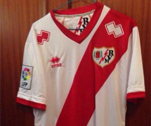 Camisas do Rayo Vallecano 2014-2015 Erreà capa