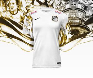 Camisas do Santos 2014-2015 Nike capa