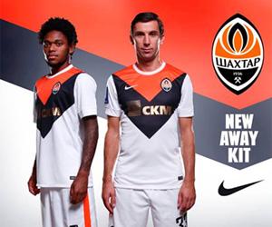 Camisas do Shakhtar Donetsk 2014-2015 Nike capa