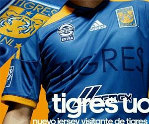 Camisas do Tigres UANL 2014-2015 Adidas Reserva
