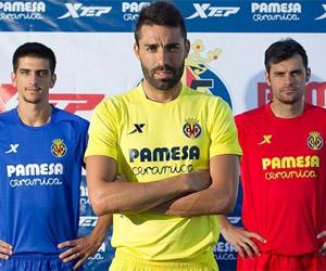 Camisas do Villareal 2014-2015 Xtep