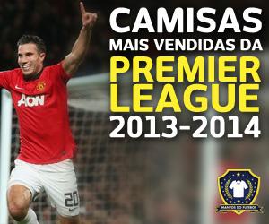 Camisas mais vendidas da Premier League 2013-2014 capa