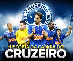 História da camisa do Cruzeiro capa