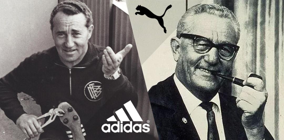 Adidas x Puma Irmãos Dassler