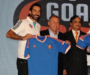 Camisas do FC Goa 2014-2015 Adidas capa