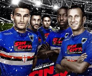 Sampdoria coloca anúncio 3D em sua camisa
