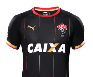 Terceira camisa do Vitória 2014-2015 Puma capa