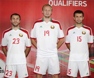 Camisas da Bielorrússia 2014-2015 Adidas capa