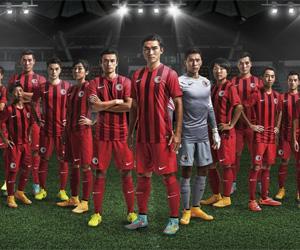 Camisas de Hong Kong 2014-2015 Nike capa