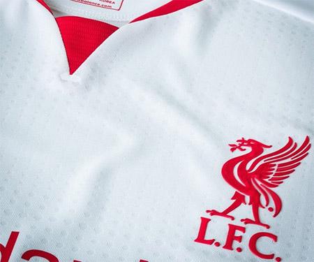 Camisas do Liverpool 2015-2016 New Balance capa