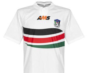 Camisas do Sudão do Sul 2014-2015 AMS capa