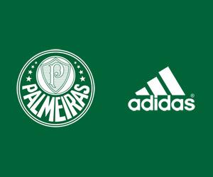 Palmeiras e adidas capa