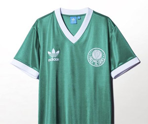 Adidas Originals lança últimas camisas do Palmeiras para o centenário