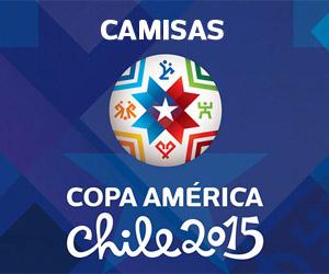 Camisas da Copa América 2015 capa