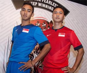 Camisas da Singapura 2014-2015 Nike capa