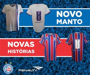 Camisas do Bahia 2015 Penalty