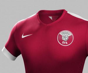 Camisas do Catar 2014-2015 Nike capa