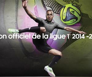Com Lucas, adidas apresenta nova bola da Ligue 1 na França capa