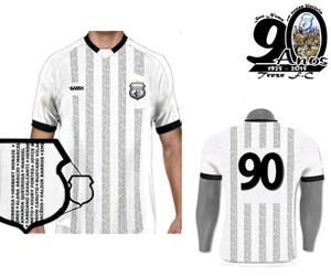 Treze-PB comemorará 90 anos com nomes de torcedores na camisa