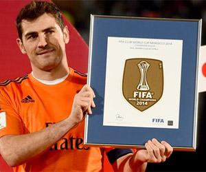 Camisa do Real Madrid com Badge de Campeão Mundial 2014 capa
