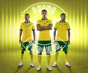 Camisas da África do Sul 2015 Nike capa