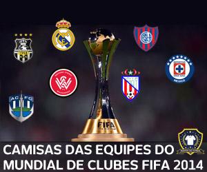 Camisas das equipes do Mundial de Clubes 2014 - FIFA capa