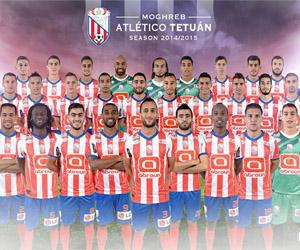 Camisas do Moghreb Atlético Tétouan 2014-2015 King capa