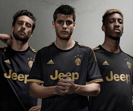Terceira camisa da Juventus 2015-2016 Adidas capa