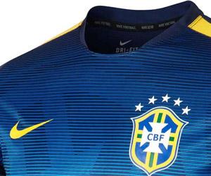 Camisa Pré-jogo da seleção do Brasil 2015 Nike