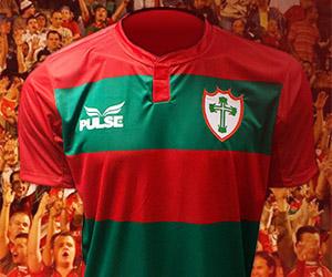 Camisas da Portuguesa 2015 Pulse capa