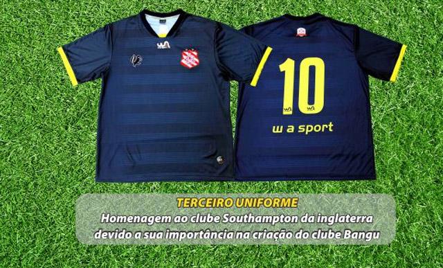 Camisas do Bangu 2015 WA Sport Southampton