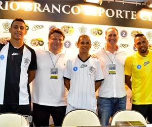 Camisas do Rio Branco-SP 2015 Kickball capa