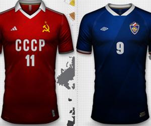 Como seriam as camisas das seleções da Cortina de Ferro capa