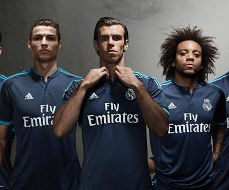 Terceira camisa do Real Madrid 2015-2016 capa